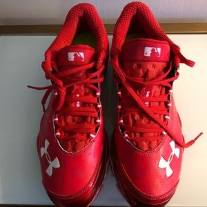 """NWT Under Armour """"natural"""" baseball turf trainers"""